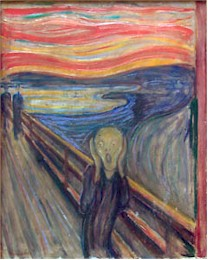 Scream Painting Van Gogh Original Vincent Frequently Asked