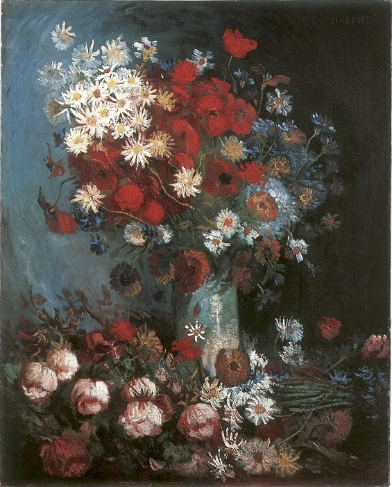 Click here to see 'Still Life with Meadow Flowers and Roses'